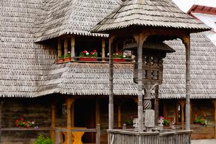 イエウドの村の家の写真素材 [FYI01634164]