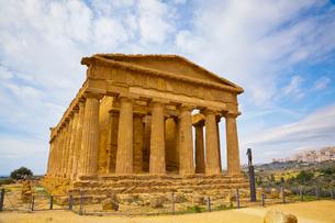 コンコルディア神殿の写真素材 [FYI01634175]