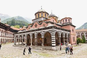リラの僧院の写真素材 [FYI01634185]