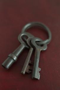 アンティークの鍵の写真素材 [FYI01634922]