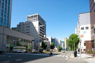 「錦通長島町」交差点の写真素材 [FYI01635185]