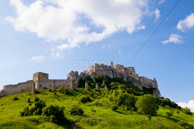 スピシュ城の写真素材 [FYI01635291]