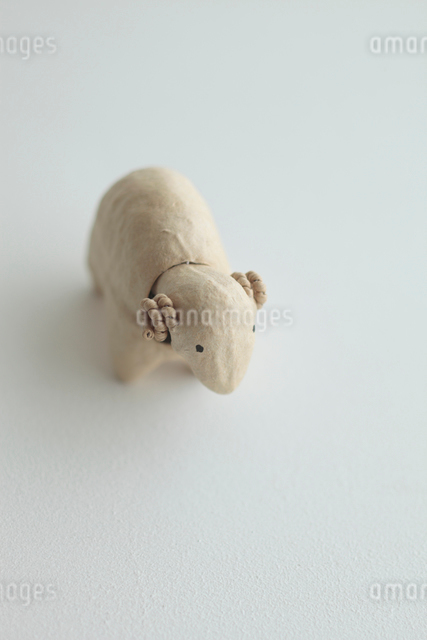 羊の張り子の写真素材 [FYI01635461]