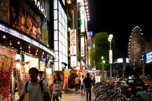 錦3丁目付近の歓楽街の写真素材 [FYI01635878]