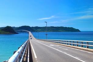 角島大橋と角島の写真素材 [FYI01635892]