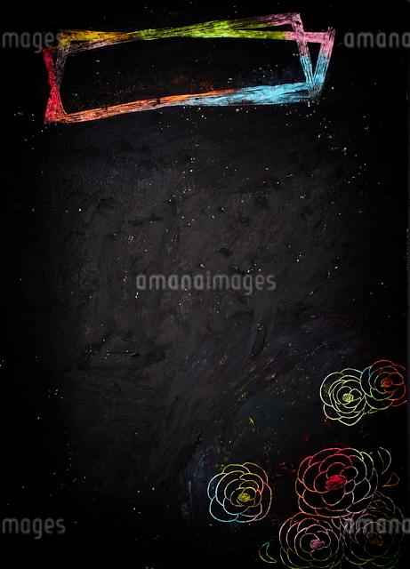 クレヨンスクラッチの写真素材 [FYI01636099]