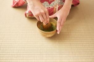 茶道とお茶のイメージの写真素材 [FYI01637041]