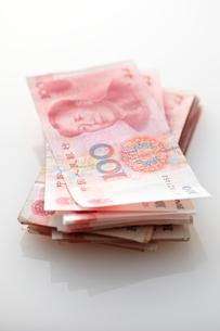 並べられた中国元の写真素材 [FYI01637089]