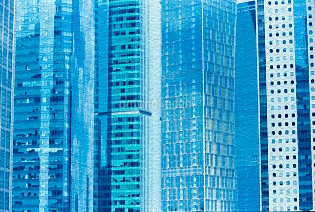 ビルの窓の写真素材 [FYI01637196]