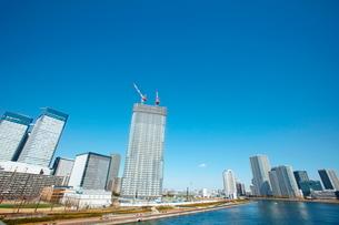 東京ビル群の写真素材 [FYI01637223]