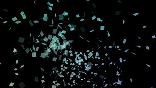 舞い散る四角の写真素材 [FYI01637343]