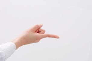 伸びた指の写真素材 [FYI01637593]