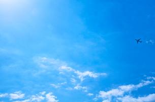 東京の青空の写真素材 [FYI01637711]