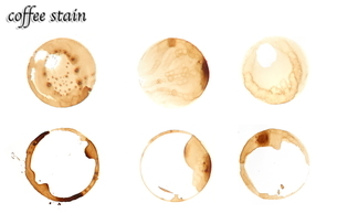 コーヒーステインの写真素材 [FYI01637779]