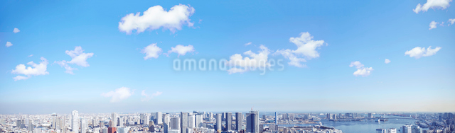 都会のビル群の写真素材 [FYI01638132]