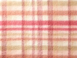 チェック柄の布の写真素材 [FYI01638179]