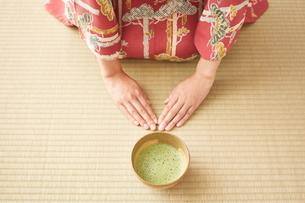 茶道とお茶のイメージの写真素材 [FYI01638193]