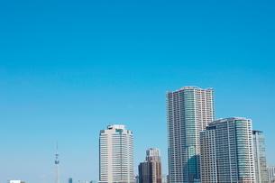 東京ビル群の写真素材 [FYI01638278]