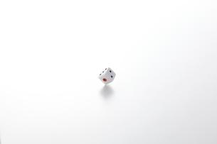 転がるサイコロの写真素材 [FYI01638843]