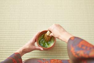 茶道とお茶のイメージの写真素材 [FYI01638977]