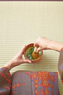 茶道とお茶のイメージの写真素材 [FYI01639004]