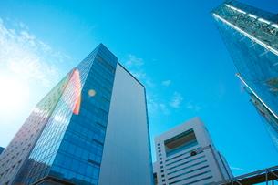 東京ビル群の写真素材 [FYI01639136]
