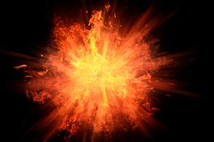 爆発の写真素材 [FYI01640357]