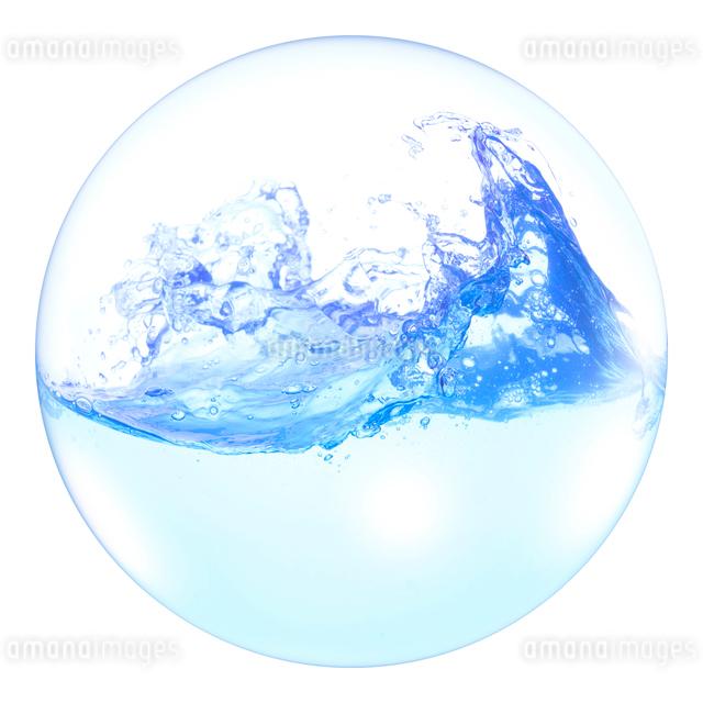 球体の水の写真素材 [FYI01641009]