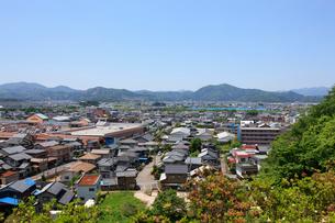 西山公園から見える鯖江市の写真素材 [FYI01641018]