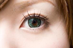 女性の目の写真素材 [FYI01641387]