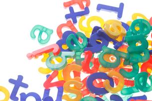 玩具の文字の写真素材 [FYI01641431]