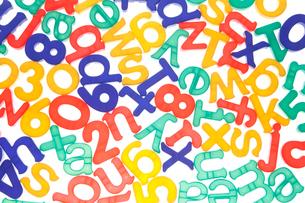 玩具の文字の写真素材 [FYI01641547]