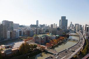 大阪の街並の写真素材 [FYI01641885]