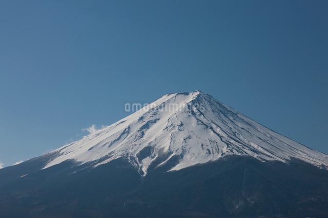 カチカチ山山頂からの富士山の写真素材 [FYI01642035]