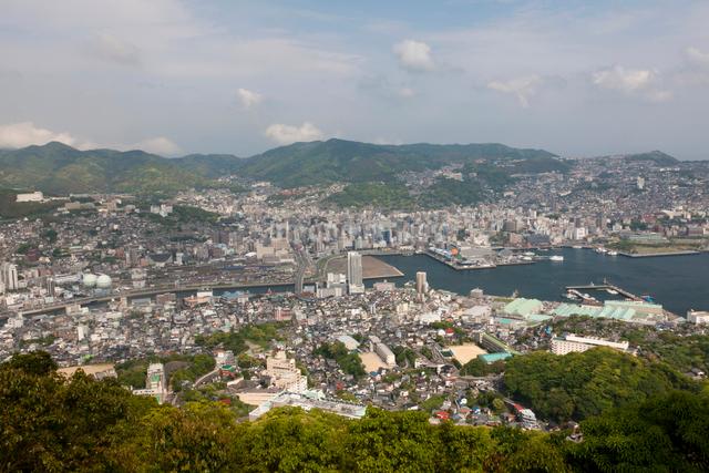 長崎の街並の写真素材 [FYI01642472]