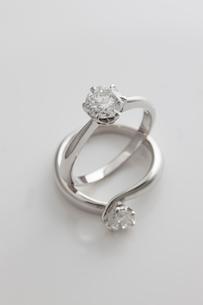 ダイヤモンドの指輪の写真素材 [FYI01642493]