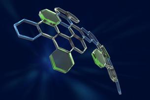 化学分子の写真素材 [FYI01642533]