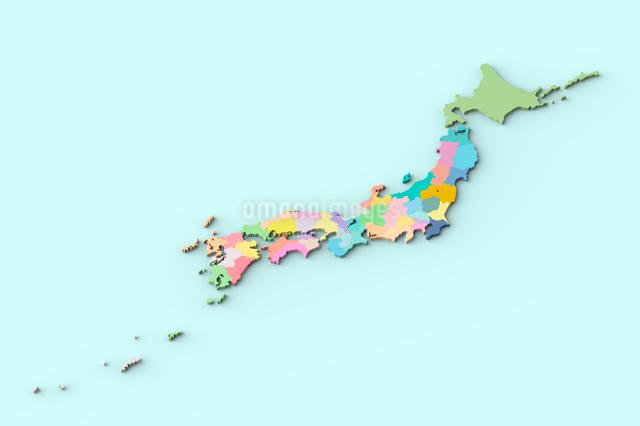 日本地図の写真素材 [FYI01642777]