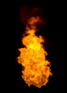火の玉の写真素材 [FYI01642803]