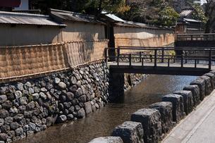 長町武家屋敷跡,大野庄用水の写真素材 [FYI01642849]