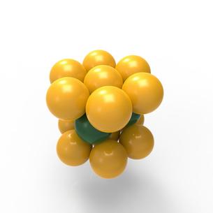 六方最密構造のイラスト素材 [FYI01642886]
