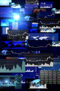 株価グラフのイラスト素材 [FYI01643527]