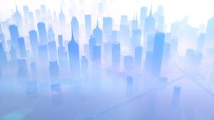 未来都市のイラスト素材 [FYI01643539]