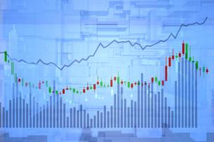 株価グラフのイラスト素材 [FYI01643580]