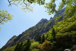 御在所岳登山道からの眺めの写真素材 [FYI01643726]