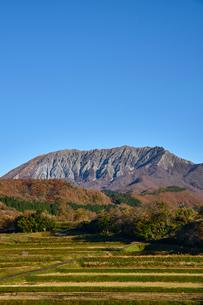 江府町から望む奥大山の写真素材 [FYI01643730]