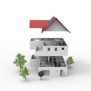 住宅のプランのイラスト素材 [FYI01643882]