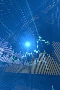 株価グラフのイラスト素材 [FYI01643897]