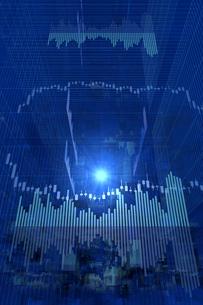株価グラフのイラスト素材 [FYI01644121]