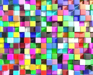 カラフルなキューブのイラスト素材 [FYI01644190]